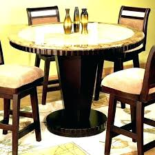 high dining room table and chairs black bar height table lesdonheures com