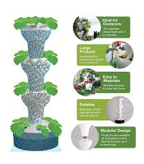 amazon com foody 8 vertical hydroponic home garden enjoy fresh