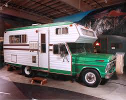 1969 ford based chassis mount motorhome campers pinterest