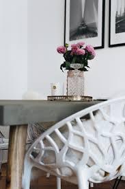 Esszimmer Design Schwarz Weis Kontraste Interior Essecke Modern Gestalten Mit Betontisch U0026 Stuhl Mix