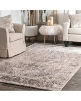 Microfiber Runner Rug Great Deals On Nuloom Vintage Faded Withered Medallion Ivory