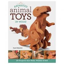 animated animal toys in wood book woodworking tools