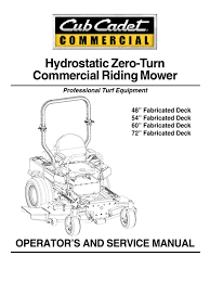 cub cadet m60 tank ops manual 02003427 07 1 battery electricity