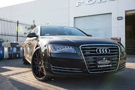audi s8 matte black audi a8 at forgiato headquarters