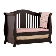 Olivia Convertible Crib by Storkcraft Black Vittoria 3 In 1 Fixed Side Convertible Crib Free