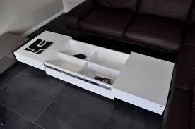 Wohnzimmertisch Mit Stauraum Design Couchtisch S 70 Weiß Schublade Stauraum Carl Svensson