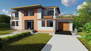duplex house design initially it was a single floor home design