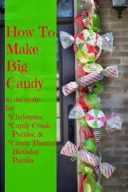 Large Christmas Decorations Diy by Best 25 Candy Decorations Ideas On Pinterest Candy Decorations