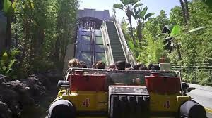 Map Universal Studios Hollywood Universal Studios Hollywood Jurassic Park Full Ride Front Pov