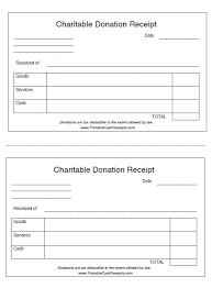 8 free donation receipt templates u2013 stationery templates