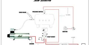 air horn wiring at 12v compressor diagram gooddy org for car