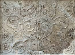 decorative floral panel rome museum of the altar of augustan