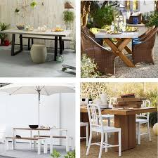 ikea outdoor dining table best outdoor dining sets dwr west elm crate ikea 8 more