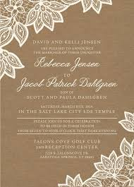 wedding announcements wording 136 best lds wedding invitations images on wedding