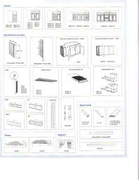 kitchen furniture cabinet size chart sizes 204202251 with std