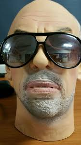 old man mask for halloween the general realistic latex full head old man mask halloween