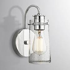Glass Wall Sconce Bathroom Sconces Sconce Designs For The Bath Ls Plus