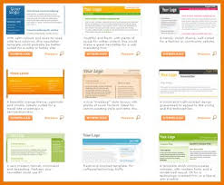 newsletter templates word 2007 free newsletter template for word
