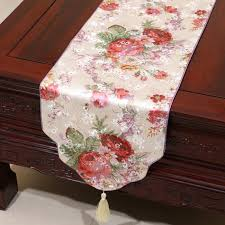 luxury damask table runner happy event table runners table linen chinese rustic style luxury