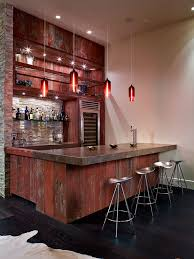 home bar interior design great look for a home bar the materials and design aren t