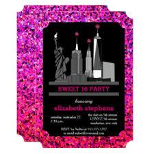 sweet 16 birthday party invitations u0026 announcements zazzle