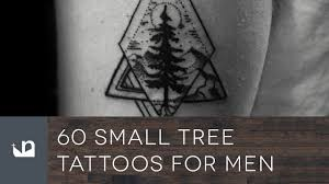 60 small tree tattoos for