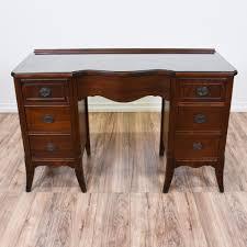 Solid Oak Office Desk Desk Small Solid Wood Computer Desk All Wood Office Desk Office