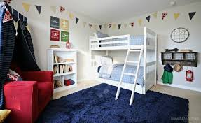 Bunk Bed Room Boys Bunk Bed Room Sawdust 2 Stitches