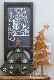 christmas and holiday decorating ideas from 32 top home bloggers christmas in dixie chalkboard with rustic holiday decorating ideas