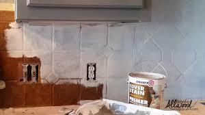 Kitchen Backsplash Samples Kitchen Older And Wisor Painting A Tile Backsplash More Easy