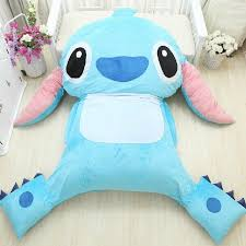 pillow beds for kids bedroom nursery room with giant blue stitch stuffed animal bed