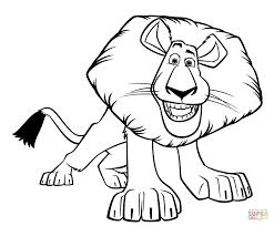 alex the lion draw alex the lion fan art 31295693 fanpop