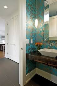 bathroom wallpaper ideas stunning images about radiant red