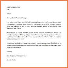 free lease termination letter free lease termination letter from