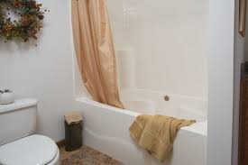 one piece garden tub shower r anell homes