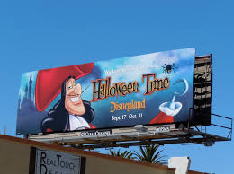daily billboard captain hook disneyland halloween time billboard