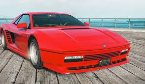 newest ferrari gta online u0027s new car is a stunning ferrari testarossa lookalike