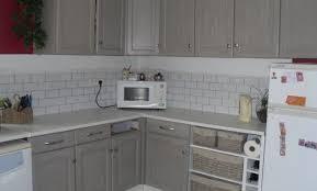exemple de cuisine repeinte exemple de cuisine repeinte cuisine blanche murs