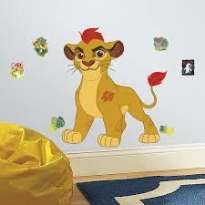 roommates rmk3176gm lion guard kion peel and stick giant wall roommates rmk3176gm lion guard kion peel and stick giant wall decals amazon com