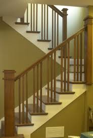 craftsman stair railings flecktastic our craftsman staircase