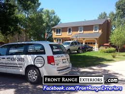 front range exteriors inc quality paint job colorado springs