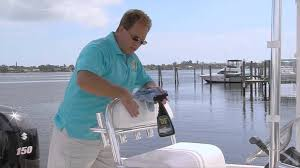 Marine Upholstery Cleaner Protecting Boat Seats And Vinyl Marine 31 Dockside Tips 5 With