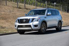 nissan armada off road 2017 nissan armada first drive automobile magazine