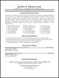 Sample Resume Styles by Example Of A Good Resume Format Good Resumes Examples Good Resume