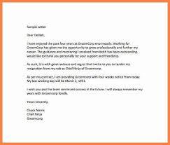 8 short notice resignation letter template notice letter