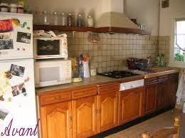 peindre carreaux cuisine rénovation cuisine dans un petit