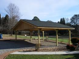 Open Carport by Pole Buildings