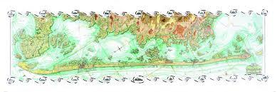 Long Beach Map Coastal Art Maps