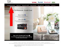 tj maxx card payment online