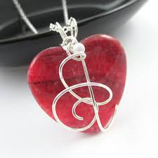 heart stone necklace pendants images Argentina rhodochrosite necklace stone from simplegem on etsy jpg